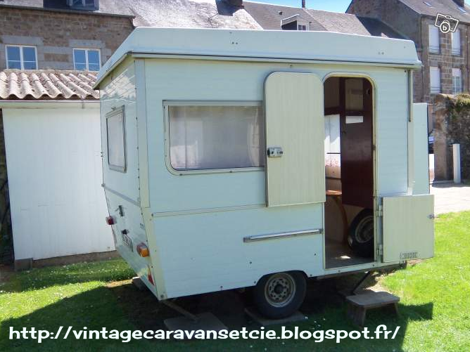 Caravane pliante 2 places occasion