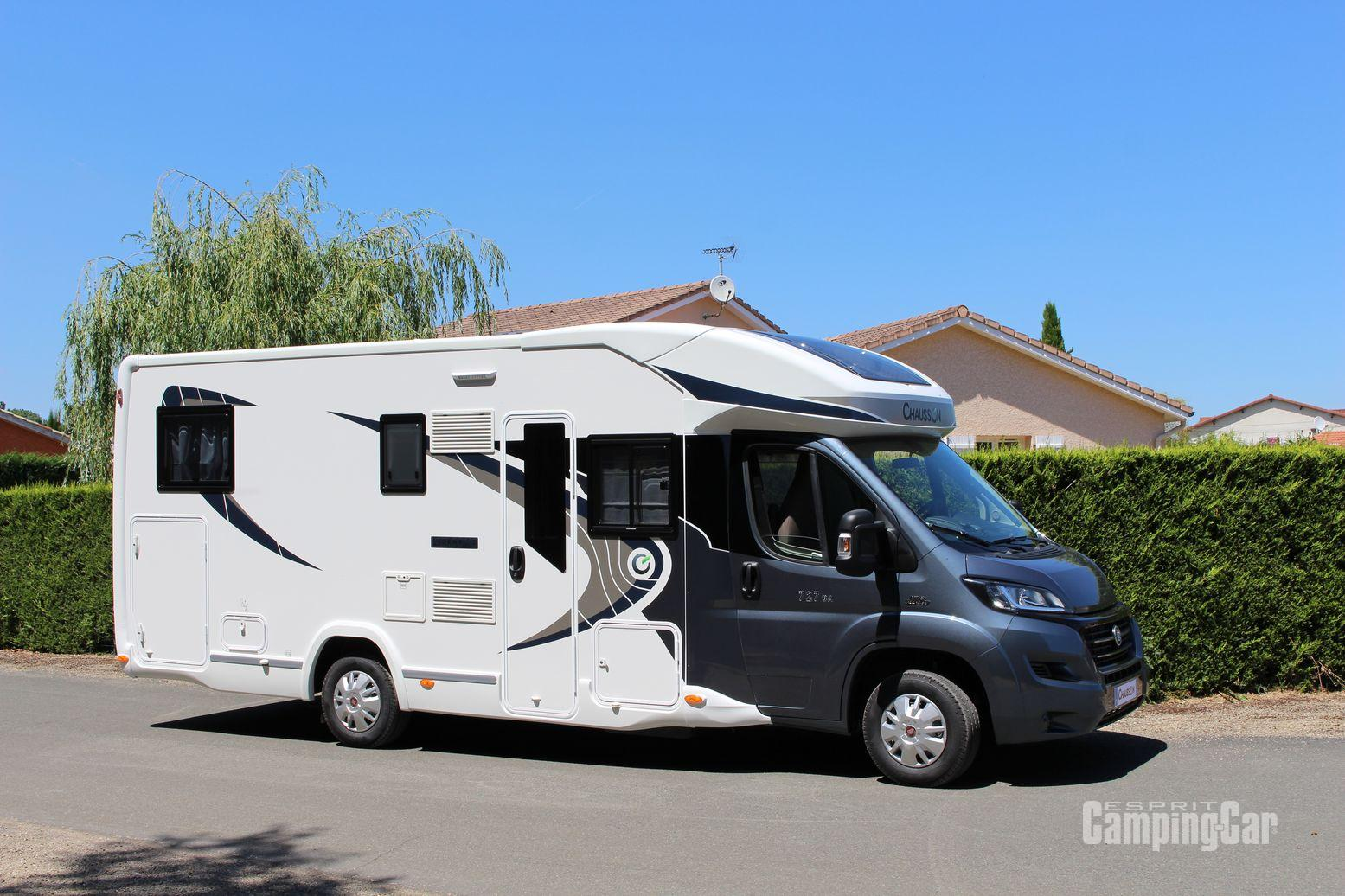 Occasion camping car profile lits jumeaux