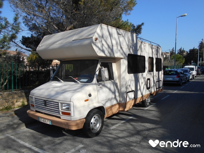 Camping car vintage occasion