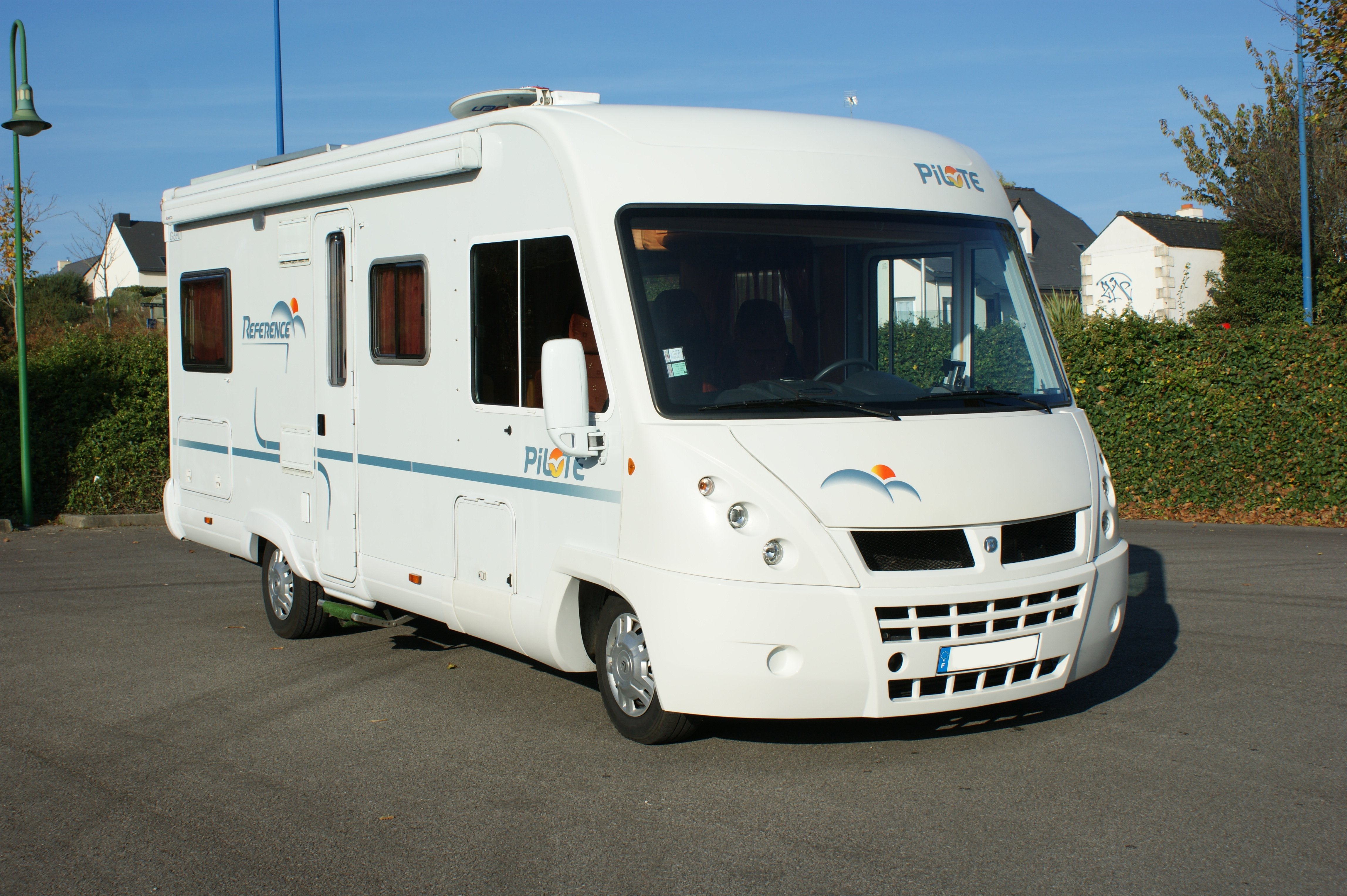 Camping car a vendre d occasion