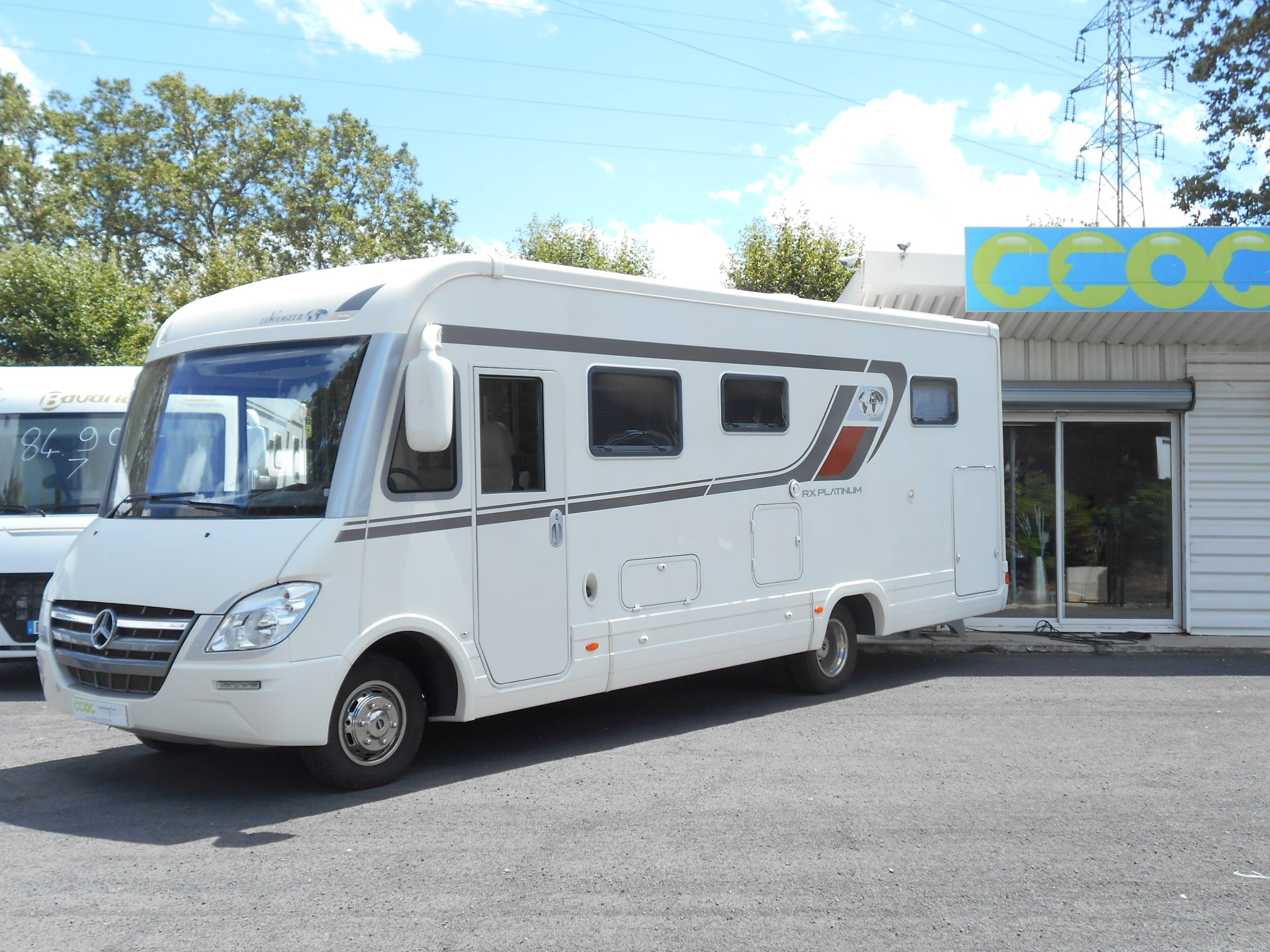 Camping car roues jumelées occasion