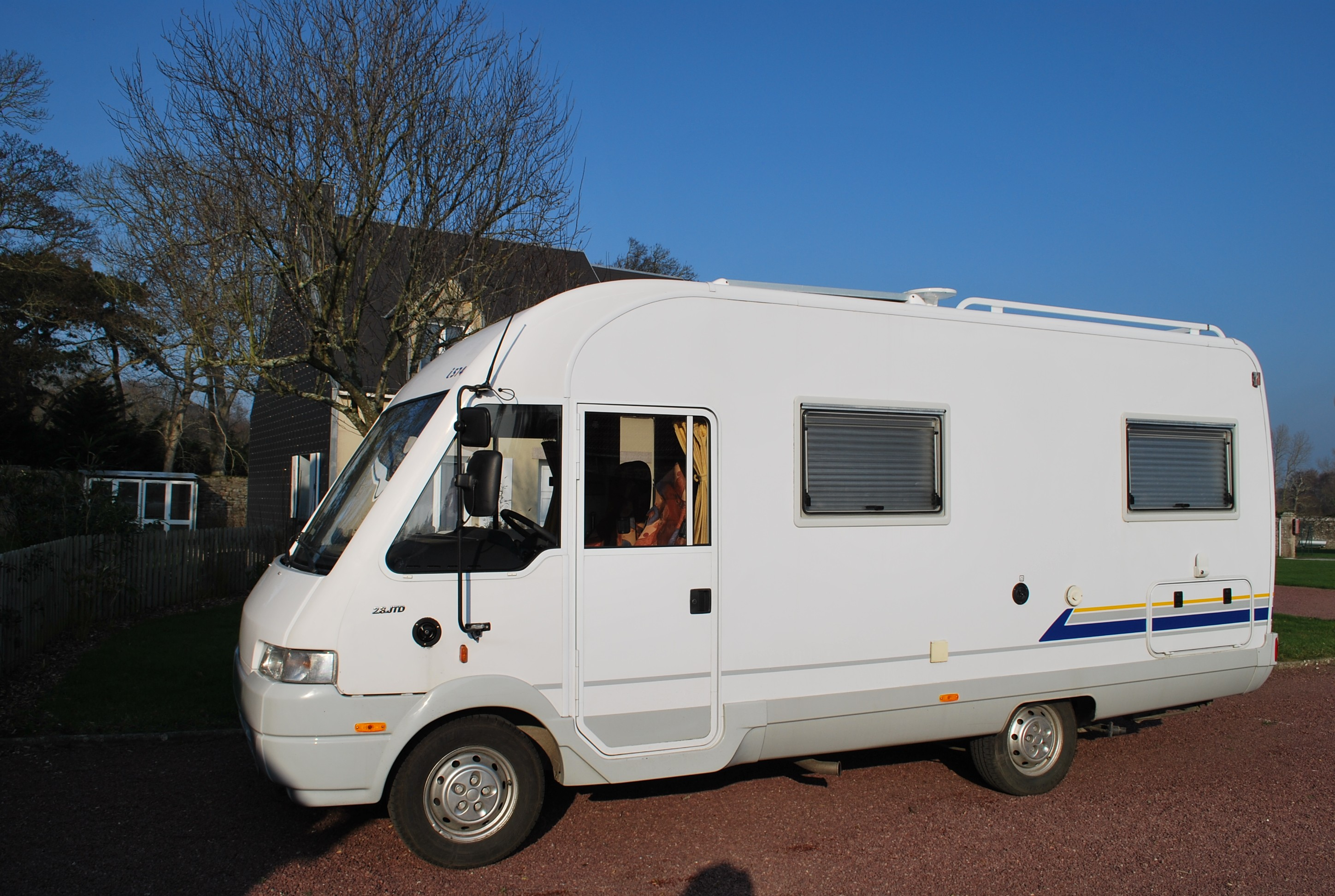Vente camping car d occasion