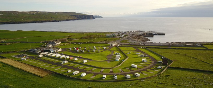 Camping co clare ireland