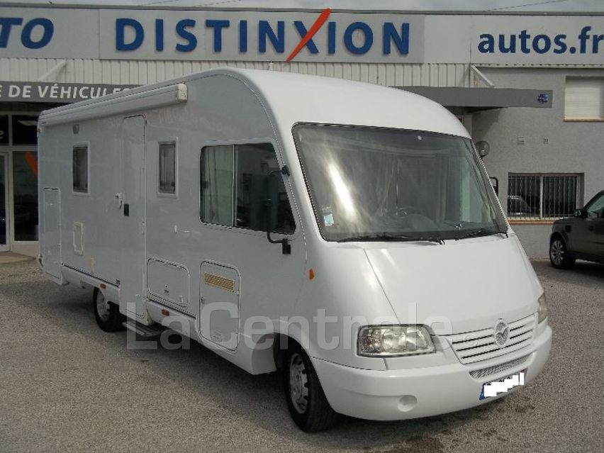 Camping car occasion 6 couchages