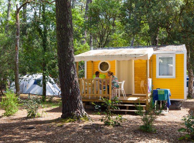 Vacances camping location mobil home