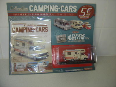 Hachette collection camping car