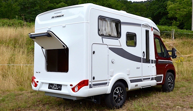 Camping car occasion compact