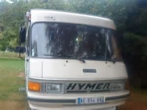 Hymer camping car occasion bon coin