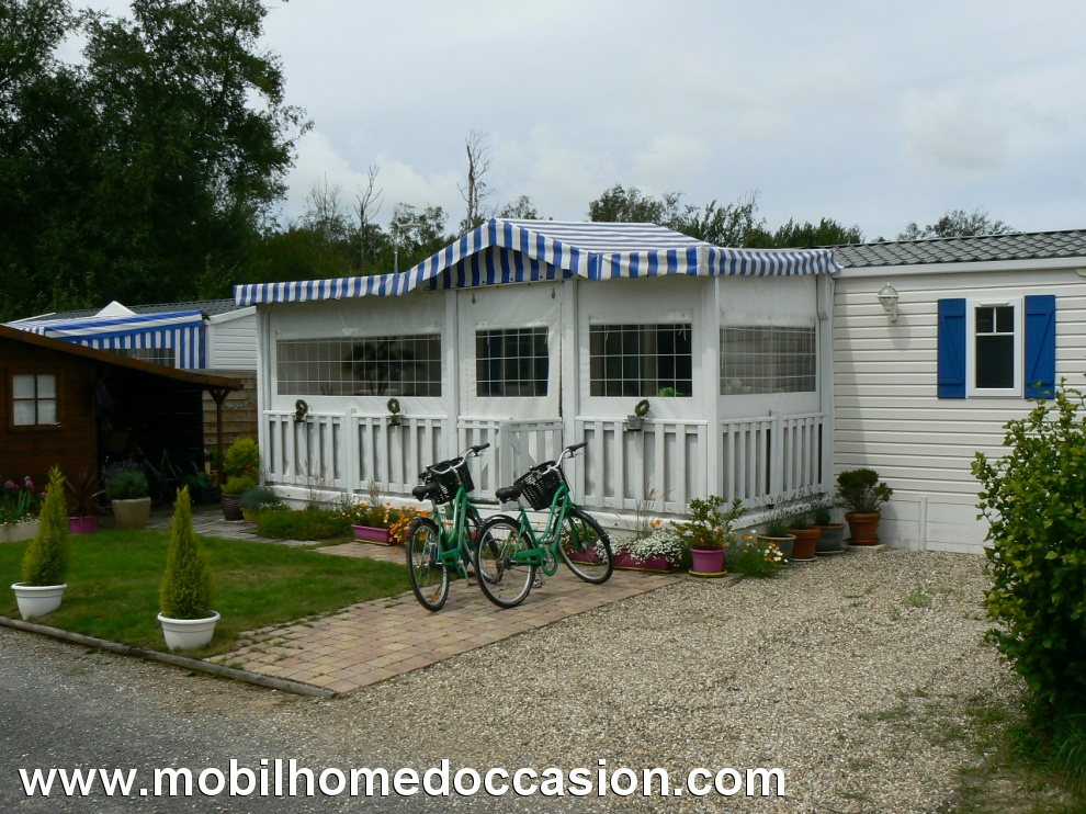 Mobil home occasion dans camping a berck
