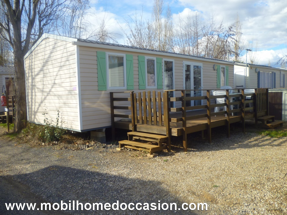 Mobil home 3 chambres occasion herault
