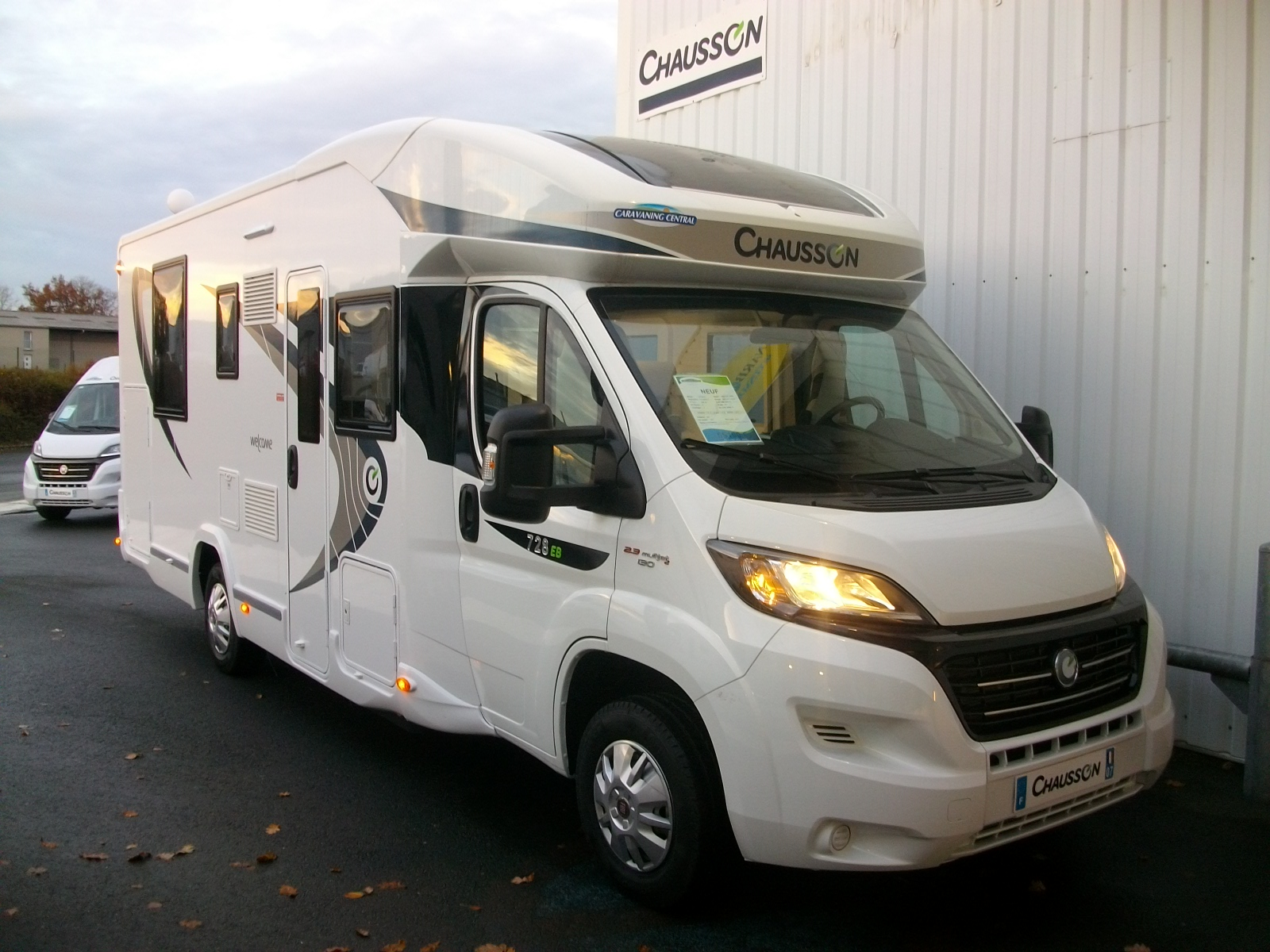 Camping car chausson 728 eb occasion