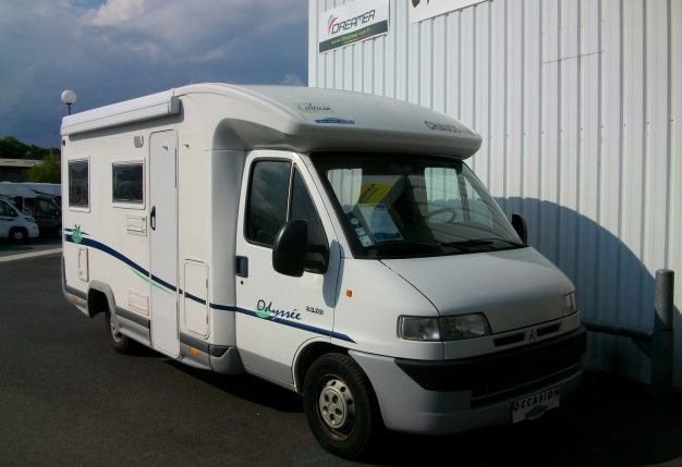 Occasion camping car professionnel