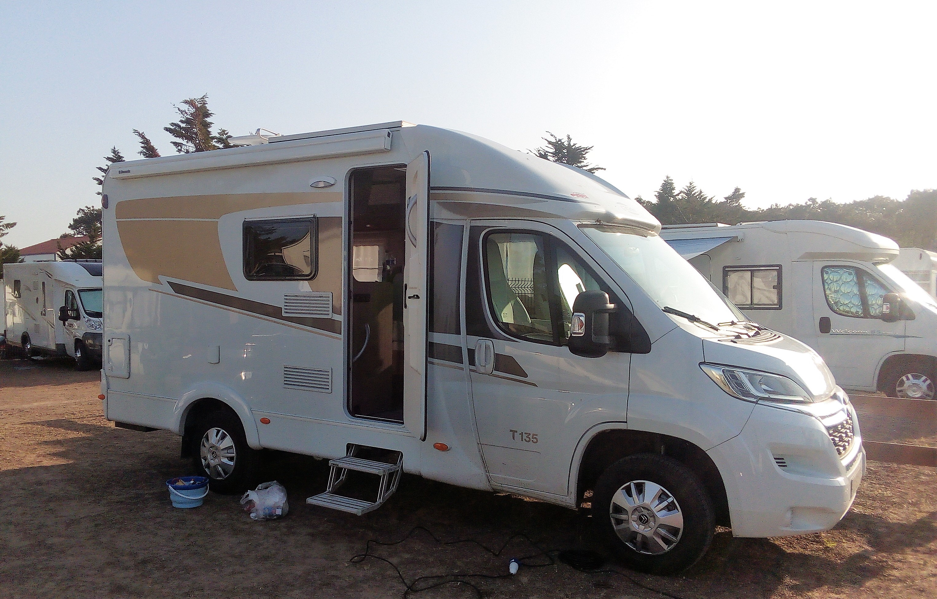 Fourgon camping car occasion particulier