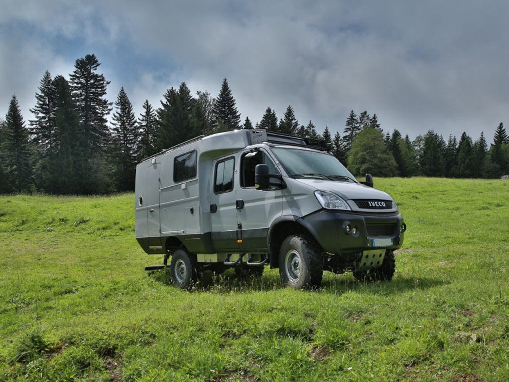 Iveco daily 4×4 camping car