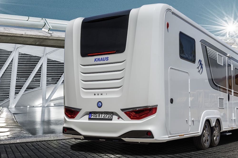 Camping car knaus occasion