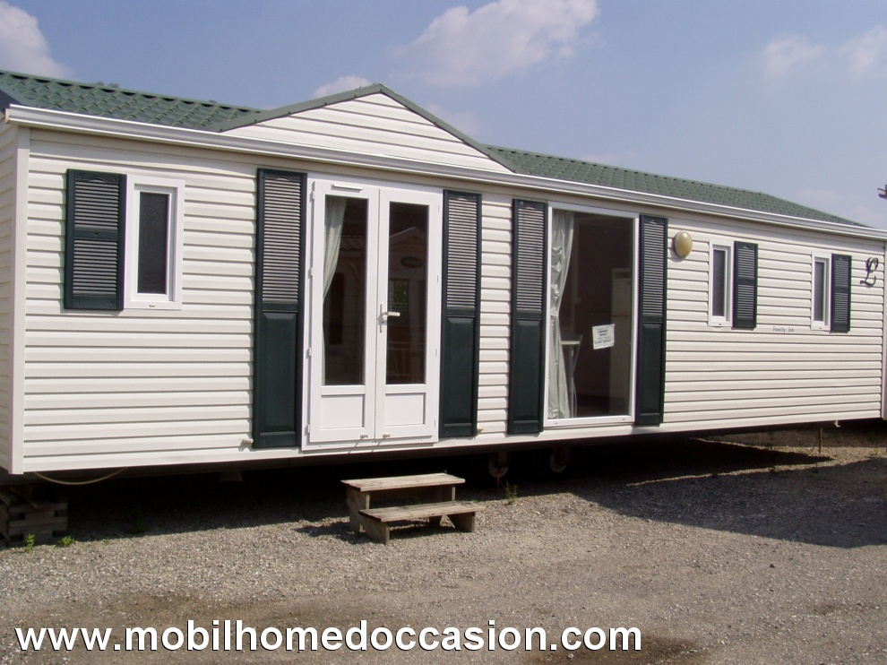 Mobil home occasion 3 chambres