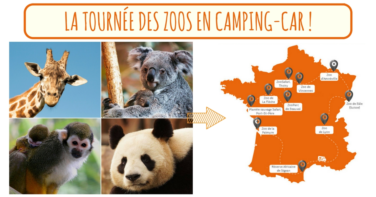 Camping car zoo de beauval
