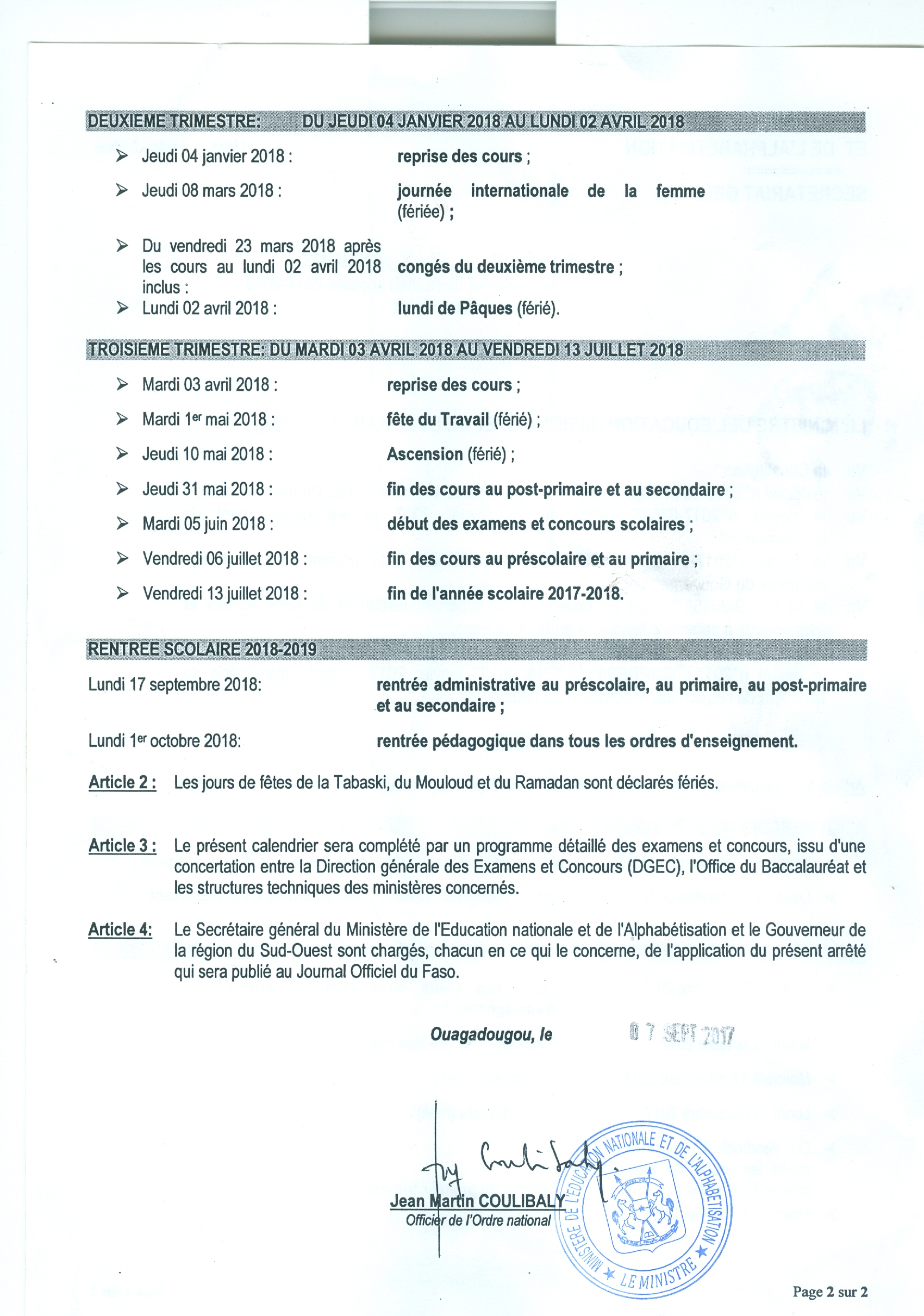 Vacance scolaire sud ouest