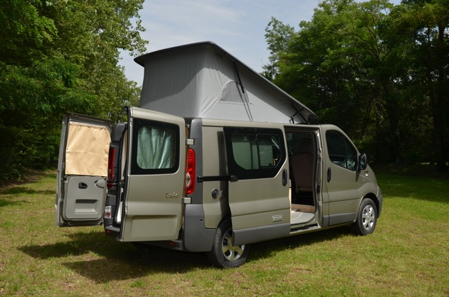 Camping car campereve mirande occasion