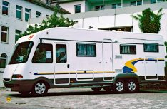 Chassis alko camping car