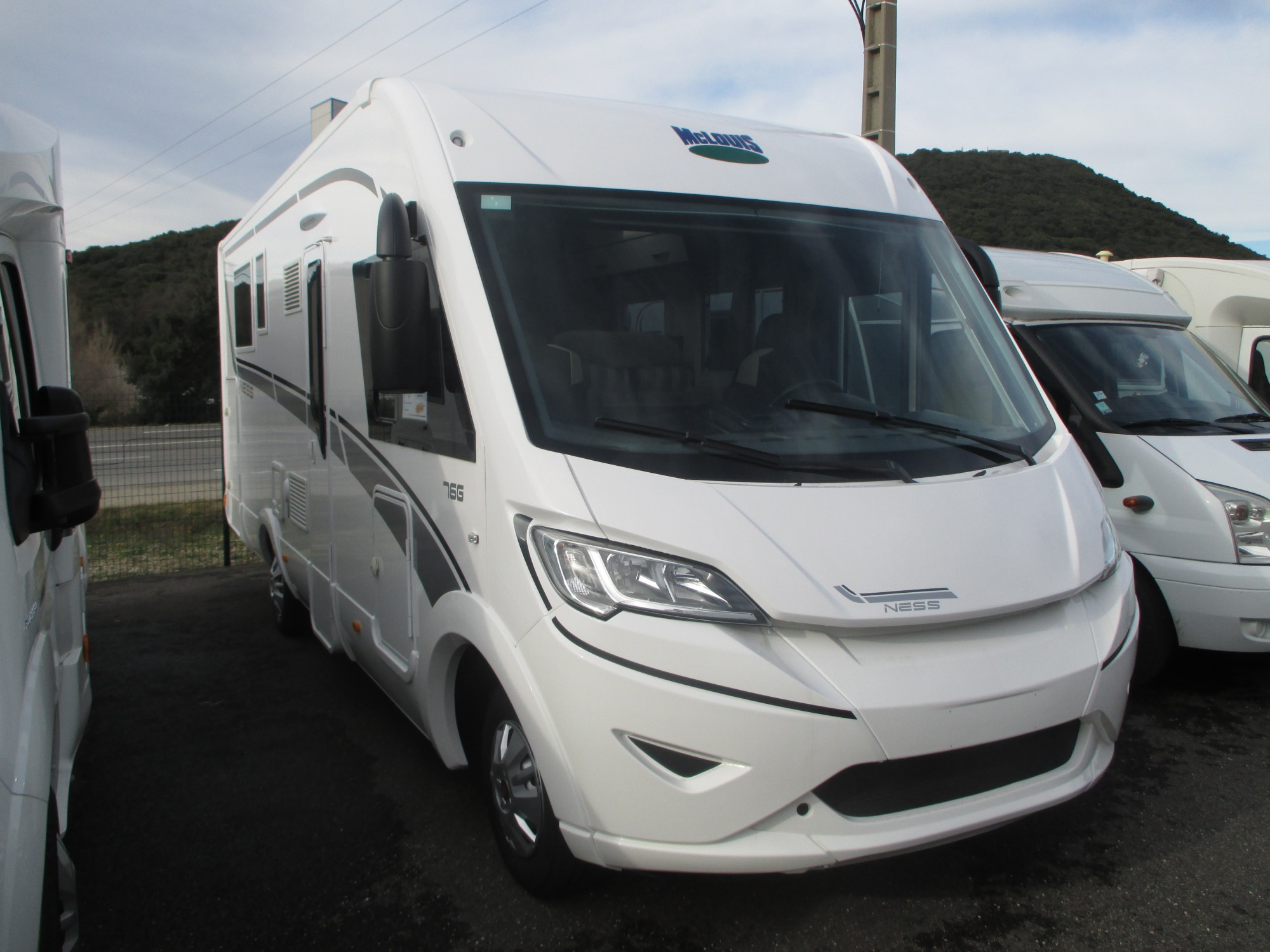 Camping car neuf import