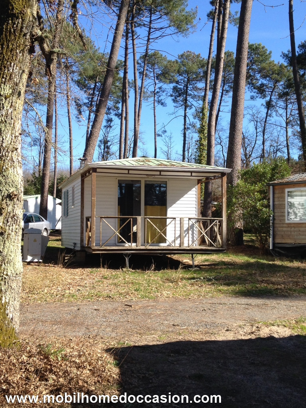 Mobilhome a vendre dans camping gironde