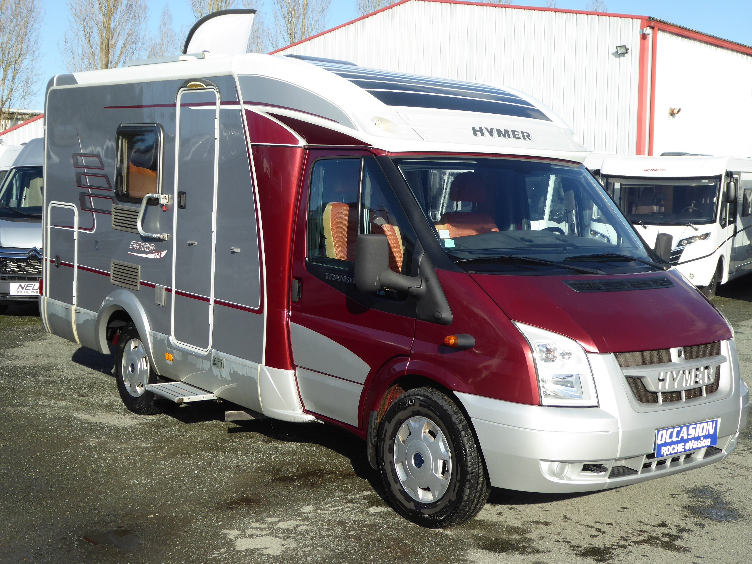 Camping car occasion moins de 6 metres camping car occasion hymer profile