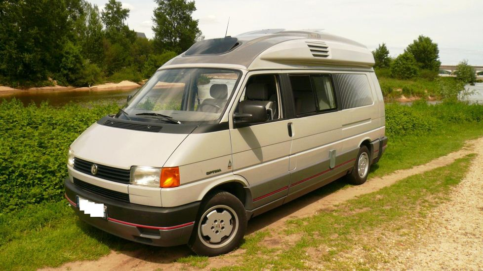 Camping-car occasion volkswagen fourgon