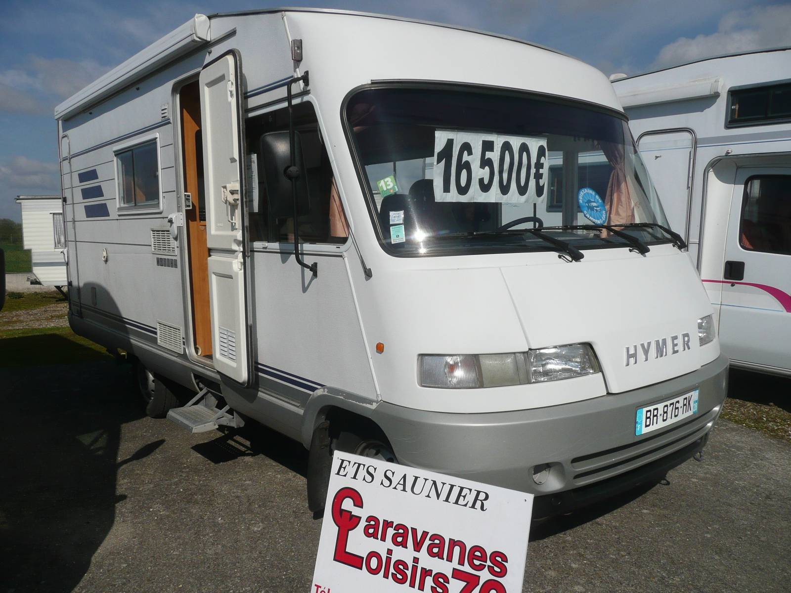 Vente camping car hymer occasion
