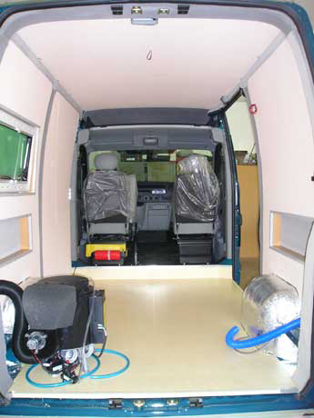 Camping car la flamengrie