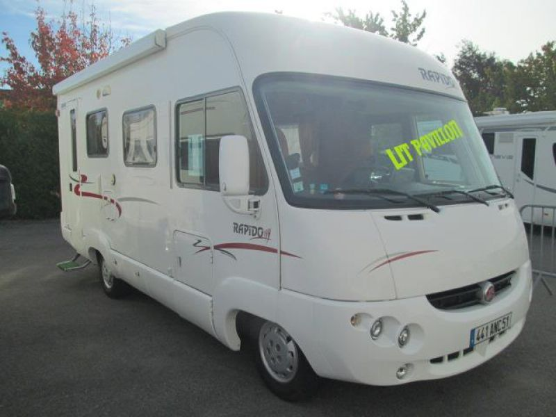 Camping car integrale occasion france