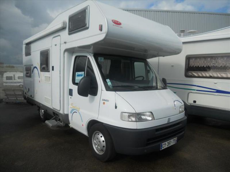 Camping car occasion autostar integral