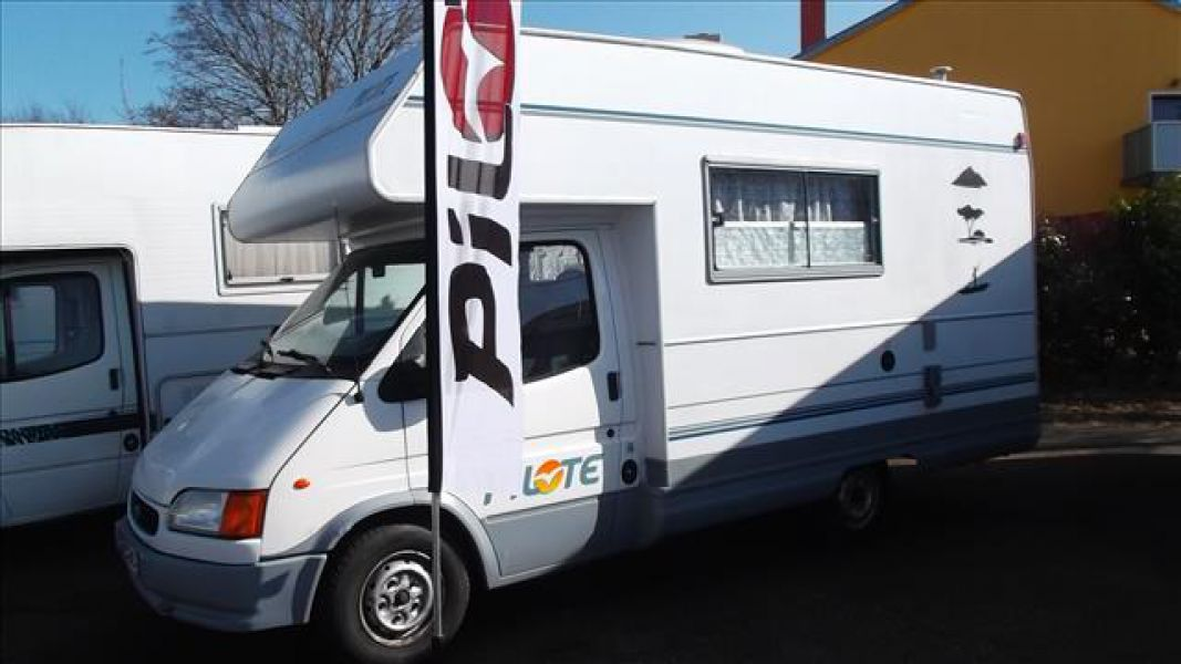 Le bon coin camping car lit central