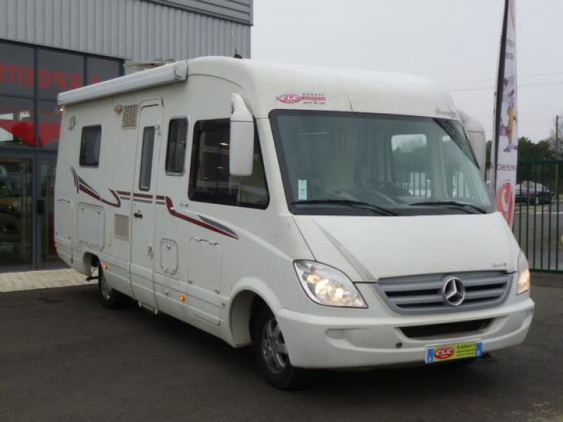 Camping car occasion 6 m integral