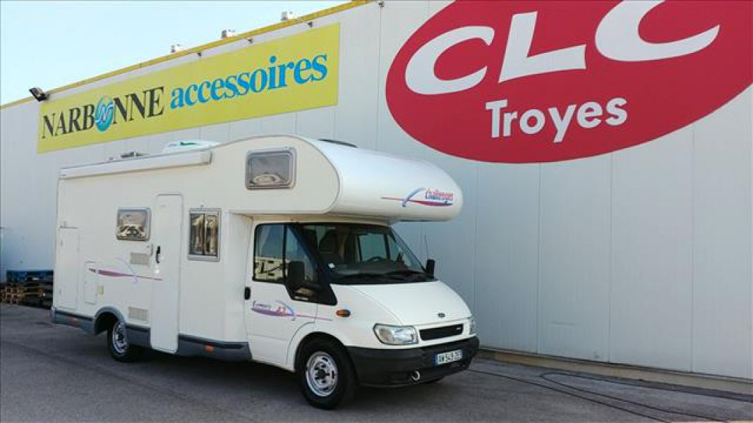 Clc camping car d occasion