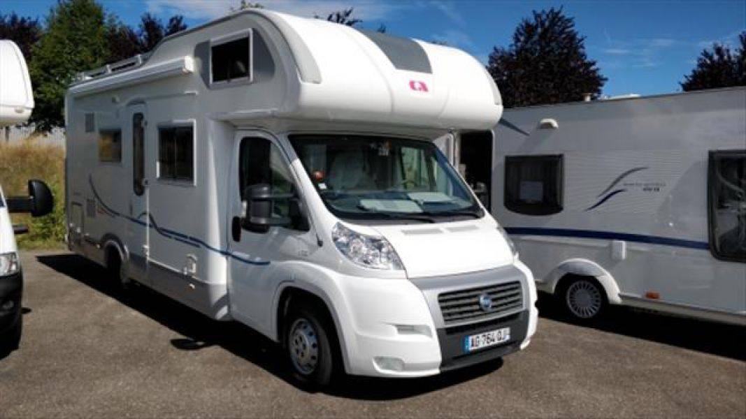 Camping car occasion jeanniot