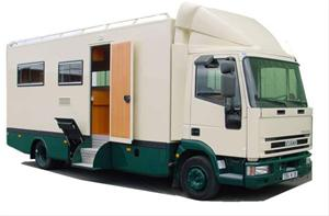 Camping car camion occasion