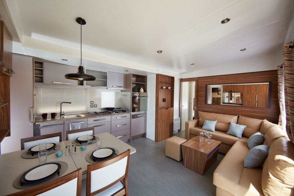 Mobil home neuf luxe
