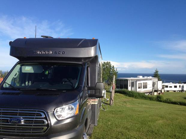 Camping car quebecois