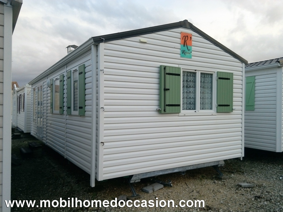 Mobil home occasion rideau