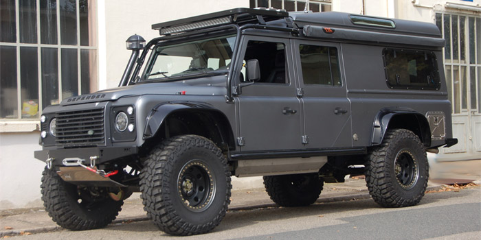 Land-rover defender camping car occasion