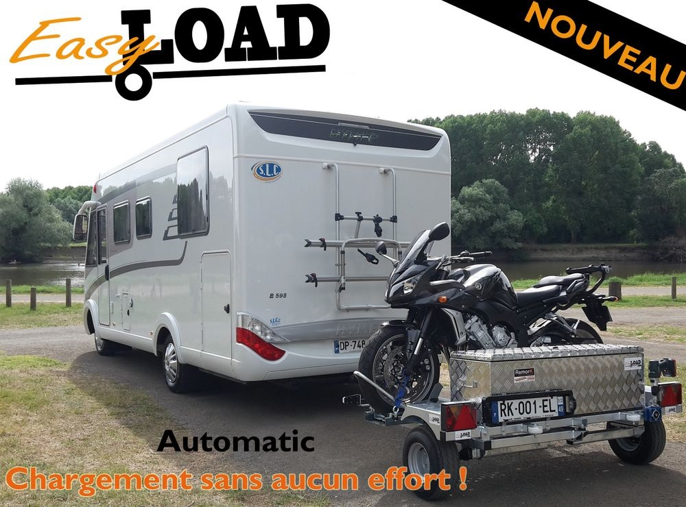 Remorque transversal pour camping car occasion