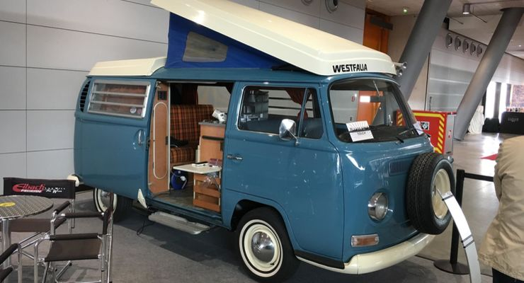 Camping car retro camping car occasion avec lit central