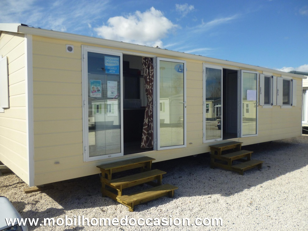 Mobil home occasion sur emplacement herault
