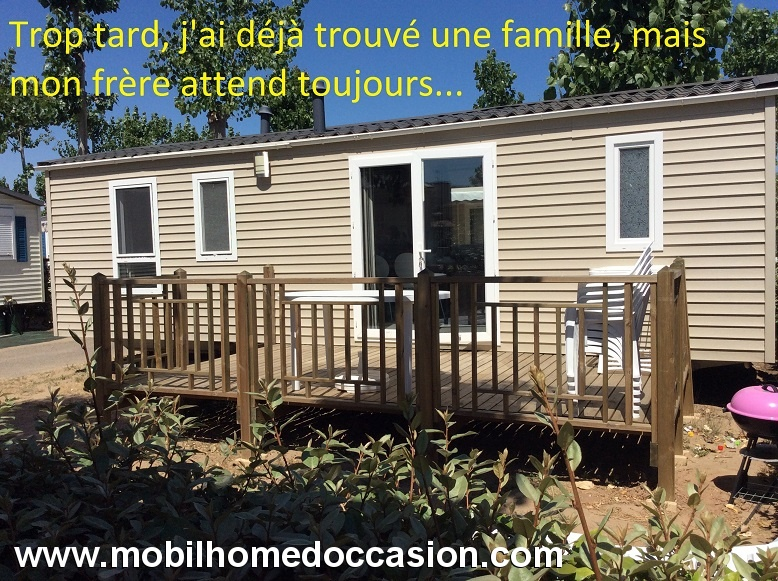 Mobil home occasion gard dans camping