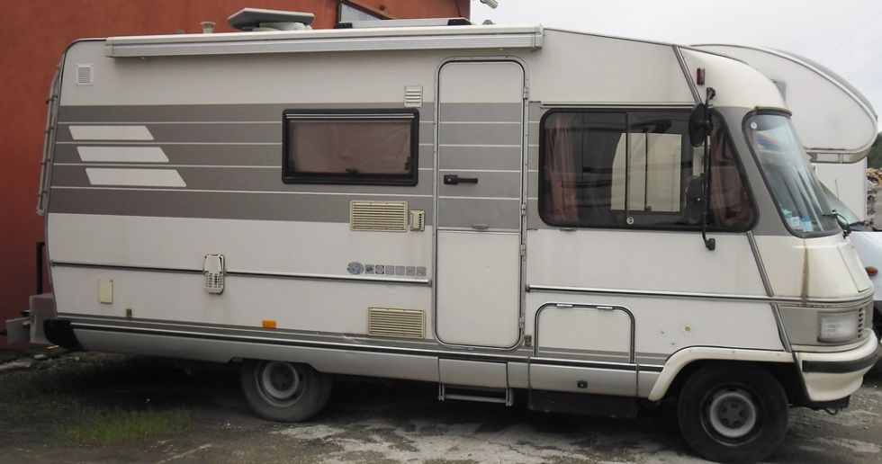 Occasion camping car integral hymer