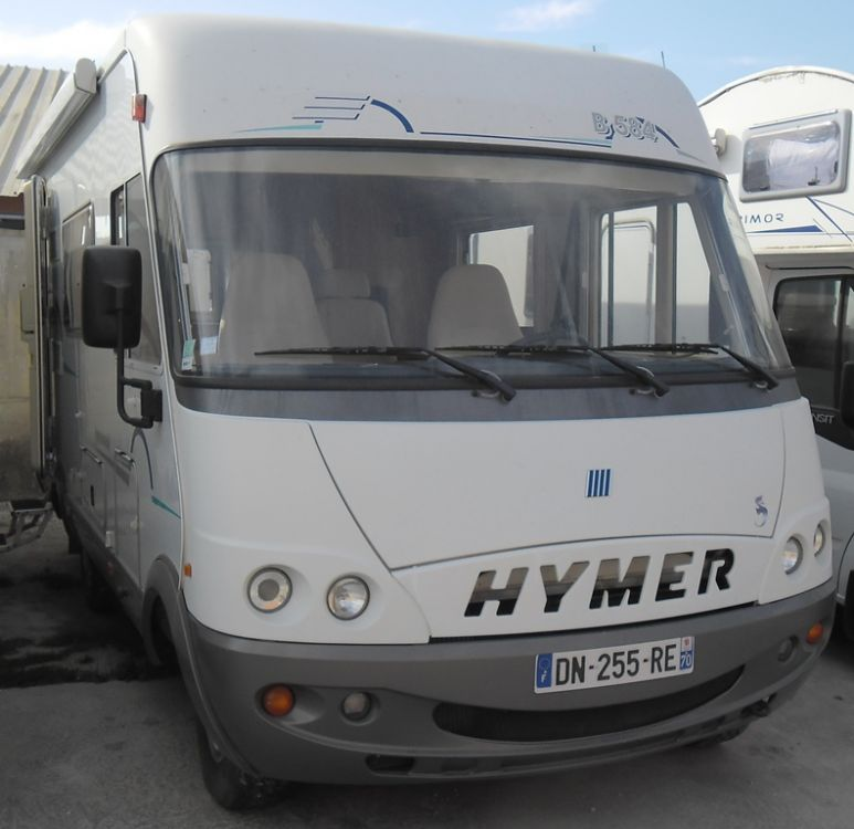 Camping car hymer b584 occasion