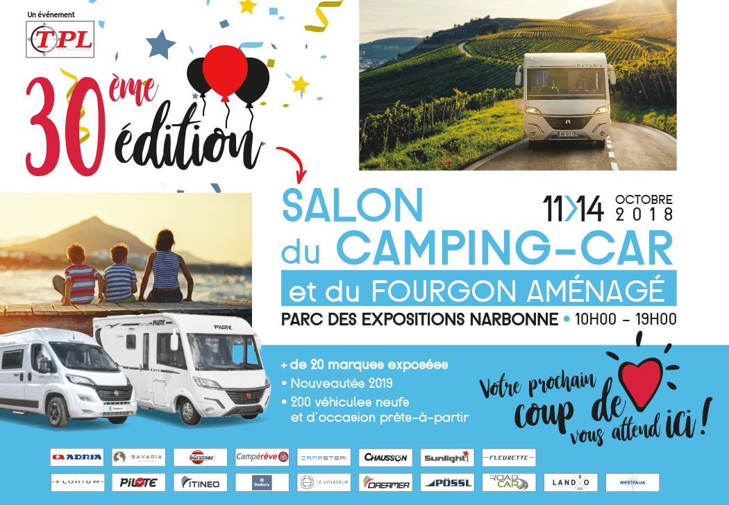 Salon du camping car occasion