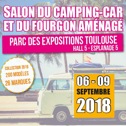 Salon du camping car toulouse 2017