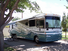 Camping car winnebago occasion